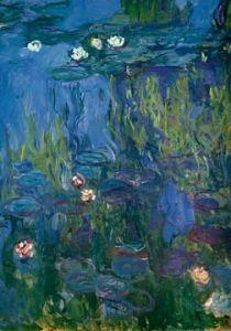 Nympheas  by Claude Monet Monet Paintings, Impressionist Paintings, Landscape Paintings, Art Et Architecture, Monet Water Lilies, Ouvrages D'art, Art Moderne, Canvas Wall Art, Wall Mural