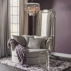 curl up in the sophisticated & comfy cuddler chair from z gallerie. Furniture, Glam Living Room, Room, Luxury Living Room, Cuddler Chair, Luxury Living, Furniture Shop, Home Decor, Interior Design Career