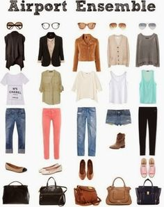 Lets Talk Fashion: PR 2014: Key Pieces for Airport Style
