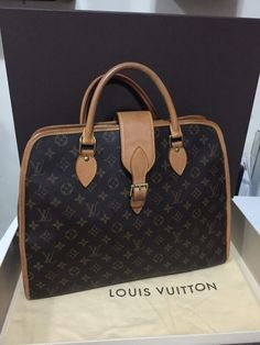 Used Authentic louis vuitton rivoli : AED In a Good Condition: Size: Height: Width: Depth: Handle: Outside: Open pocket D ring Dubai Uae, Branded Bags, Luxury Bags, Louis Vuitton Speedy Bag, Authentic Louis Vuitton, Handle, Brand New, Pocket, Ring
