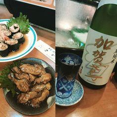 ヤバイな呑み過ぎておりまする  #加賀鳶 #牡蠣の薫製