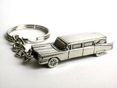 Hearse keychain #halloween #funeral #gift
