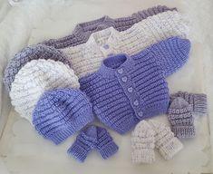 Knitting Pattern 70 To Knit Baby Cardigan Hat Mittens Boys/Girls/Reborn Dolls
