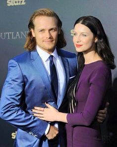 Sam and Caitroana outlander season one part two premiere nyc