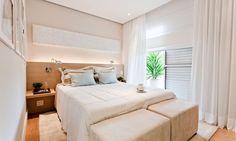 Como decorar quarto de casal pequeno | Portal Tudo Aqui