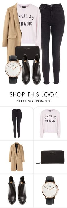 """Untitled #5059"" by laurenmboot ❤ liked on Polyvore featuring moda, Topshop, rag & bone, Givenchy, Acne Studios, Daniel Wellington, women's clothing, women's fashion, women i female"