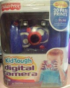 Kid Tough 158743: Fisher Price Kid-Tough Digital Camera W Bonus 20 Free Prints-Built In Auto Flash -> BUY IT NOW ONLY: $42.76 on eBay!