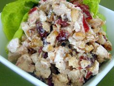 Cranberry Chicken Salad Recipe