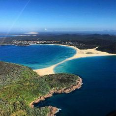 Fingal Bay & the Spit. Port Stephens NSW