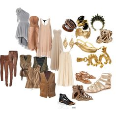 Dress Like The Khaleesi, created by aherl.polyvore.com Game of thrones