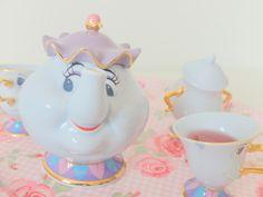 service à thé la belle et la bete