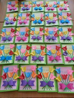 Diy For Kids, Crafts For Kids, Arts And Crafts, Diy Paper, Paper Crafts, Diy Crafts, Art Projects, Projects To Try, Mothers Day Crafts