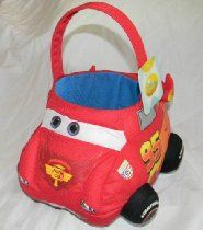 Disney's Cars Plush Easter Basket--Rust-eze McQueen  From Disney       Availability: Usually ships in 1-2 business days