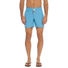 7b847b4958 #OrlebarBrown STANDARD Mid-Length Swim Shorts in Bahamas Blue   A testament  to OB's