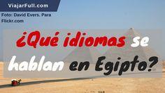 Idiomas de Egipto