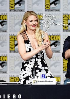jennifermorrisonstyle:  Where: San Diego Comic Con 2015 -  When: 11th July 2015 - What: Lela Rose