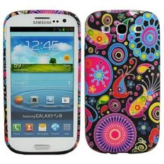 Colorful Jellyfish Design TPU Protective Skin Case for the Samsung Galaxy S3 S III i9300