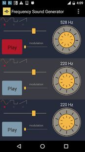 Fréquence sonore Generator- thumbnail capture d'écran