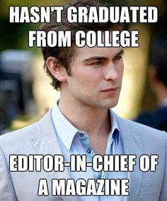 A collection of Gossip Girl Memes Gossip Girls, Nate Gossip Girl, Gossip Girl Funny, Gossip Girl Memes, Chace Crawford, Hot Hollywood Actors, Chaning Tatum, Nate Archibald, Chuck Bass