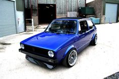Mk1 Golf true blue