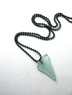 Simple Light Blue Sea Glass Surfer Style by MermaidTearsSeaglass, $7.23