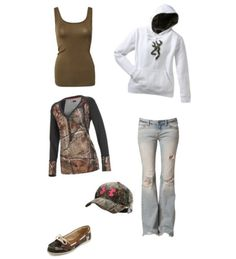 Camo (like everything but the shoes, gotta have boots)