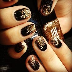 holiday nails for dolls only*