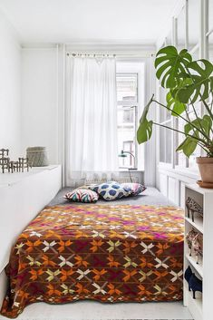 charming copenhagen bedroom in apartment of Barbara Le Svarre. / sfgirlbybay