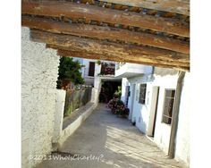 PHOTO BY ANN WINSTON: Bubion, one of the beautiful white villages of Las Alpujarras, a mountainous region southeast of Granada and the last outpoust of the Moors. This photo pairs nicely with one of the village of Capileira: