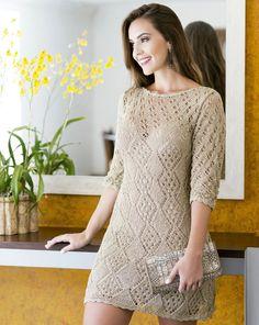 Dress in Fancy Pattern