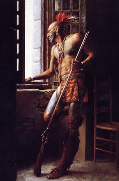 Seneca warrior (Iroquois)
