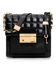 Michael Kors Gia Quilted Crossbody.