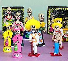 Los Dias de los Muertos art