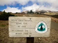 Walk the Pacific Crest Trail Thru Hiking, Hiking Trails, Pacific Coast Trail, Trail Signs, Surfing Pictures, Outdoor Fun, Outdoor Travel, To Infinity And Beyond, Appalachian Trail