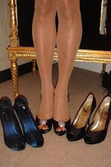 Shoes cross dressing shoes