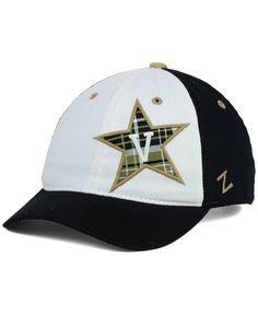 90cf81cd8e0 Zephyr Women s Vanderbilt Commodores Washed Plaid Cap Gorras Para Hombre