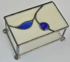 Stained+Glass+Box+with+glass+nugget+'Berry'+by+GloryGlassCompany,+$48.00