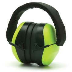 Pyramex PM80 Series Ear Muffs - 26 NRR - Protect your hearing with the comfortable PM80 series ear muffs by pyramex. These ear muffs have a noise reduction rating of 26 decibels. | #EarMuffs