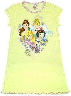#Mädchen #Disney #Princess #Cinderella #Schneewittchen #Dream #Big #Nachthemd…
