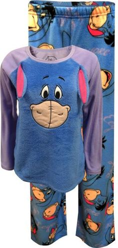 WebUndies.com Disney's Eeyore Cozy Fleece Pajama