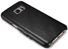iCarer Samsung Galaxy S7 Luxury Series Side Open Genuine Leather Case