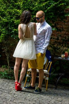The Smugglers :) Personal Shopping, White Dress, Meet, Couples, Couple Photos, Dresses, Fashion, Couple Shots, Vestidos