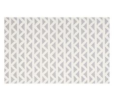 Triangles Rug - Gray #pbkids