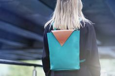 Items similar to Drifter Jade Backpack (Limited Edition) on Etsy Leather Backpack, Jade, Backpacks, Etsy, Clothes, Fashion, Outfit, Leather Book Bag, Clothing