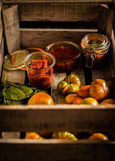 Passata de tomate casera