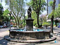México, D.F., Delegación Cuauhtémoc, Av. Álvaro Obregón, Venus y el amor.
