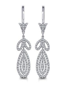 Stylish Diamond Earrings | diamonds4you.com A show of affection or a symbol of style, This earring is a perfect gift to a beloved one or in some cases yourself! Embllished with sparkling diamonds it is the right kind of shine needed for a daily dose of glamour........ - See more at: http://www.diamonds4you.com/item/21112152.aspx#sthash.ShvfMQPj.dpuf