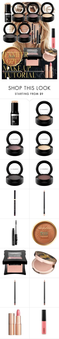 """JENNIFER LOPEZ MAKE-UP TUTORIAL"" by oroartye-1 on Polyvore featuring beauty, Jennifer Lopez, MAC Cosmetics, L'Oréal Paris, Bourjois, Illamasqua and Charlotte Tilbury"