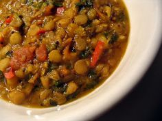 Vegetable and green lentil curry @ http://allrecipes.co.uk