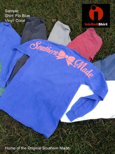 ❤️❤️❤️Comfort Color Southern Made Long Sleeve T Shirts on Etsy, $25.00 size LARGE